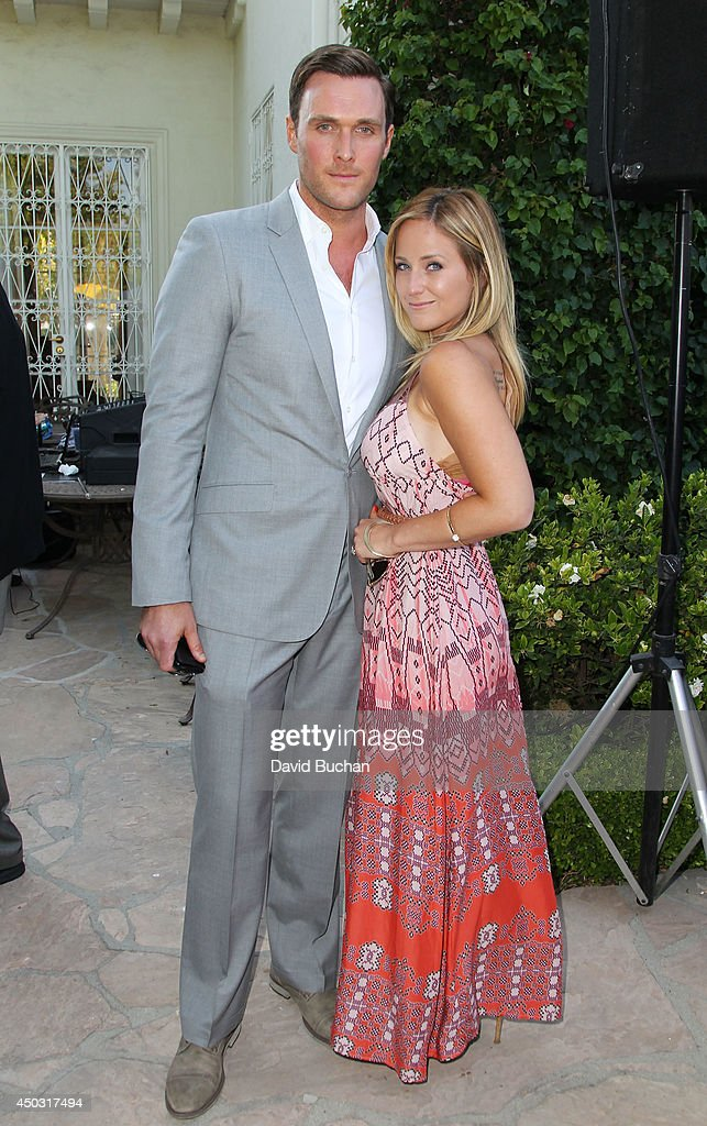Actor <a gi-track='captionPersonalityLinkClicked' href=/galleries/search?phrase=Owain+Yeoman&family=editorial&specificpeople=742684 ng-click='$event.stopPropagation()'>Owain Yeoman</a> (L) and Gee YeomanÊattend the BAFTA LA Garden Party at the British Consul General's Residence on June 8, 2014 in Los Angeles, California.Ê
