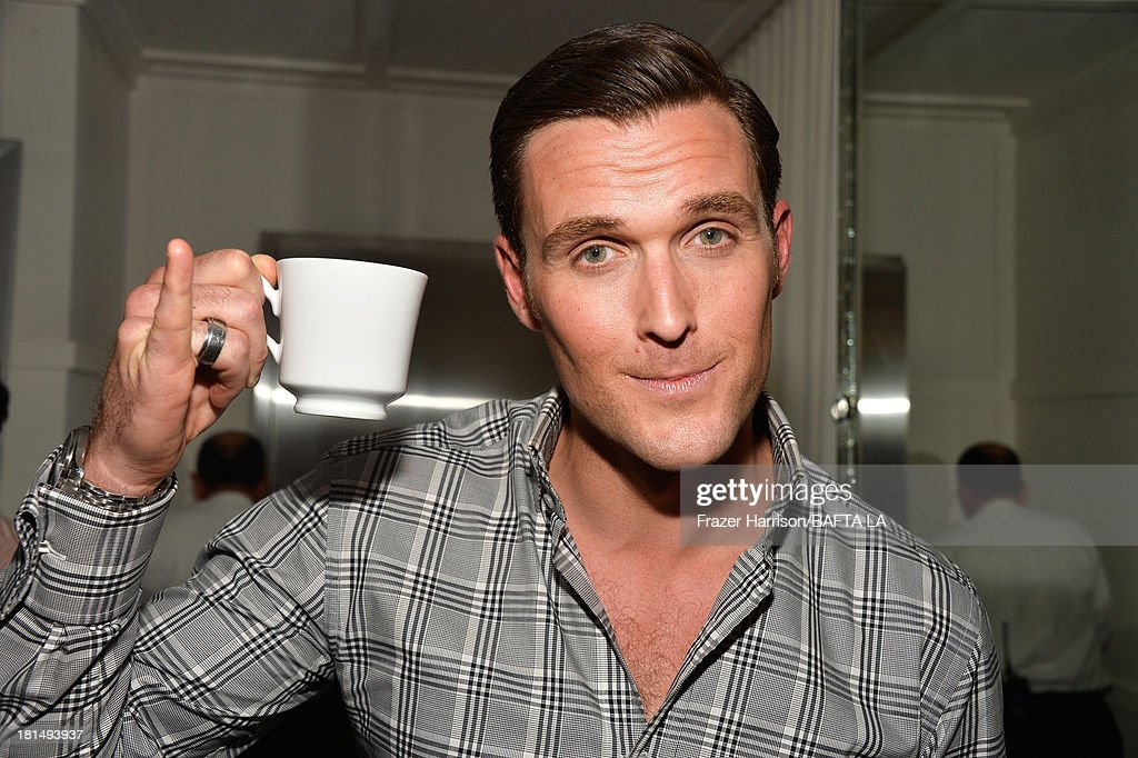 Actor <a gi-track='captionPersonalityLinkClicked' href=/galleries/search?phrase=Owain+Yeoman&family=editorial&specificpeople=742684 ng-click='$event.stopPropagation()'>Owain Yeoman</a> attends the BAFTA LA TV Tea 2013 presented by BBC America and Audi held at the SLS Hotel on September 21, 2013 in Beverly Hills, California.