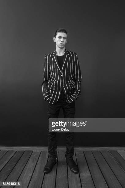 Actor Owen Teague is photographed for Fault Magazine on May 26 2016 in Los Angeles California