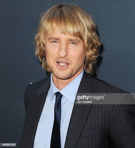 Actor Owen Wilson arrives at the Los Angeles Premiere 'No Escape' at Regal Cinemas LA Live on August 17 2015 in Los Angeles California