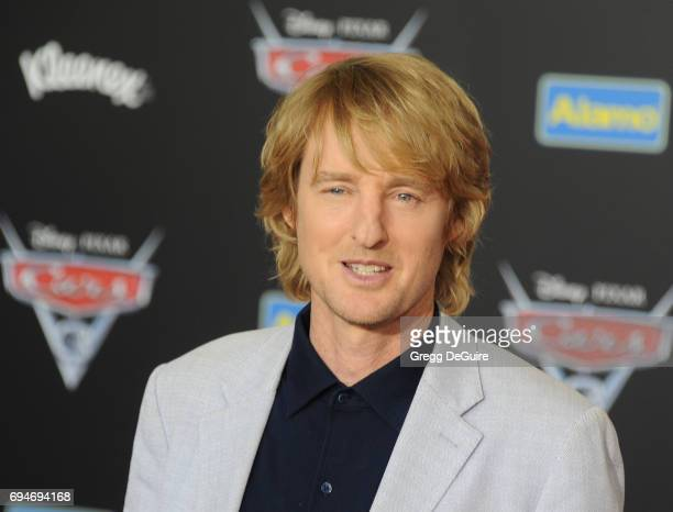 Actor Owen Wilson arrives at the premiere of Disney And Pixar's 'Cars 3' at Anaheim Convention Center on June 10 2017 in Anaheim California