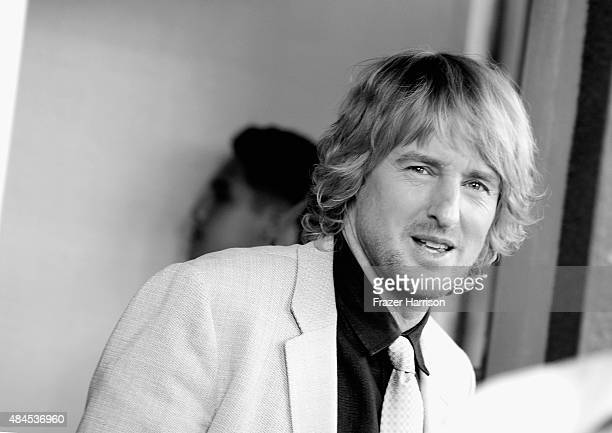Actor Owen Wilson arrives at the Premiere Of Lionsgate Premiere's 'She's Funny That Way' at Harmony Gold on August 19 2015 in Los Angeles California