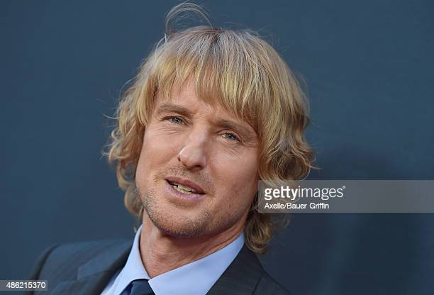 Actor Owen Wilson arrives at the premiere of The Weinstein Company's 'No Escape' at Regal Cinemas LA Live on August 17 2015 in Los Angeles California