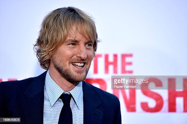 Actor Owen Wilson arrives at the Premiere Of Twentieth Century Fox's 'The Internship' on May 29 2013 in Westwood California