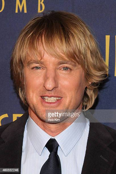 Actor Owen Wilson attends the 'Night At The Museum Secret Of The Tomb' New York Premiere at Ziegfeld Theater on December 11 2014 in New York City