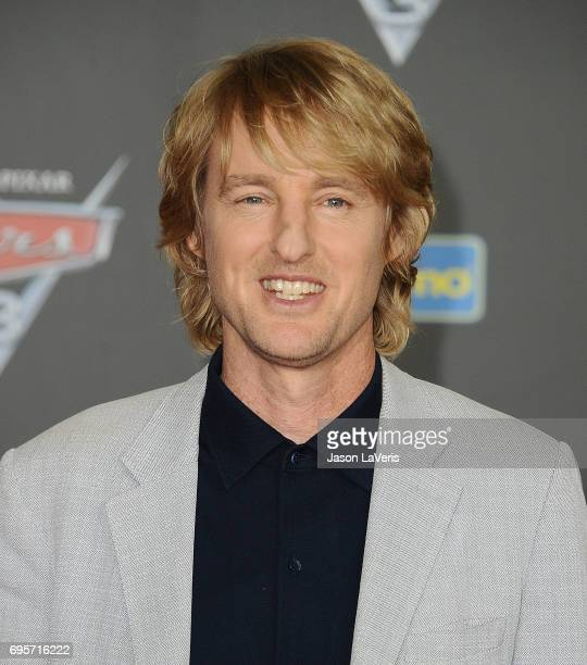 Actor Owen Wilson attends the premiere of 'Cars 3' at Anaheim Convention Center on June 10 2017 in Anaheim California