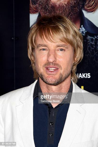 Actor Owen Wilson attends the premiere of Relativity Media's 'Masterminds' held at TCL Chinese Theatre on September 26 2016 in Hollywood California