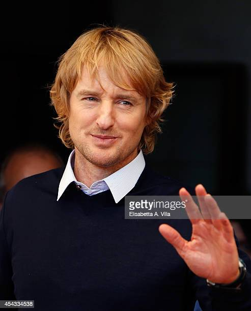 Actor Owen Wilson attends the 'She's Funny That Way' Photocall during the 71st Venice Film Festival on August 29 2014 in Venice Italy