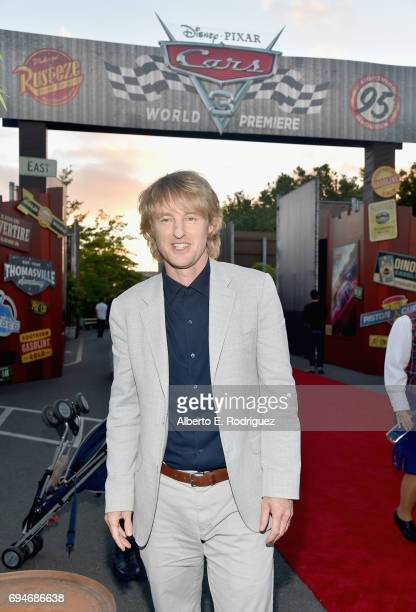 """Actor Owen Wilson poses at the after party for the World Premiere of Disney/Pixar's """"Cars 3"""" at Cars Land at Disney California Adventure in Anaheim CA"""