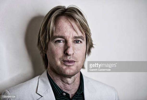 Actor Owen Wilson poses during a portrait session at the 8th Annual Dubai International Film Festival held at the Madinat Jumeriah Complex on...