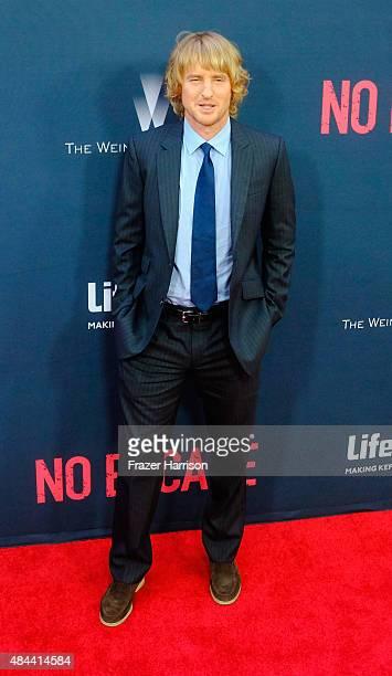 Actor Owen Wilson Premiere Of The Weinstein Company's 'No Escape' at Regal Cinemas LA Live on August 17 2015 in Los Angeles California