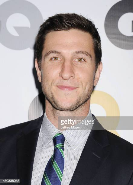 Actor Pablo Schreiber arrives at the 2013 GQ Men Of The Year Party at The Ebell of Los Angeles on November 12 2013 in Los Angeles California