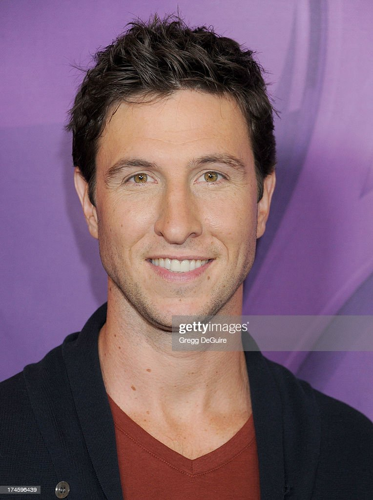 Actor <a gi-track='captionPersonalityLinkClicked' href=/galleries/search?phrase=Pablo+Schreiber&family=editorial&specificpeople=683536 ng-click='$event.stopPropagation()'>Pablo Schreiber</a> arrives at the 2013 NBC Television Critics Association's Summer Press Tour at The Beverly Hilton Hotel on July 27, 2013 in Beverly Hills, California.