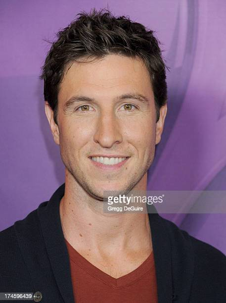 Actor Pablo Schreiber arrives at the 2013 NBC Television Critics Association's Summer Press Tour at The Beverly Hilton Hotel on July 27 2013 in...