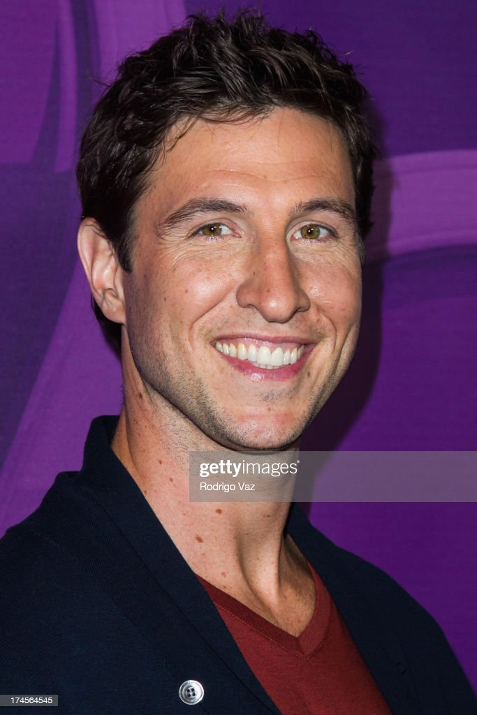 Actor <a gi-track='captionPersonalityLinkClicked' href=/galleries/search?phrase=Pablo+Schreiber&family=editorial&specificpeople=683536 ng-click='$event.stopPropagation()'>Pablo Schreiber</a> arrives at the 2013 Television Critic Association's Summer Press Tour - NBC Party at The Beverly Hilton Hotel on July 27, 2013 in Beverly Hills, California.