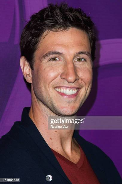 Actor Pablo Schreiber arrives at the 2013 Television Critic Association's Summer Press Tour NBC Party at The Beverly Hilton Hotel on July 27 2013 in...