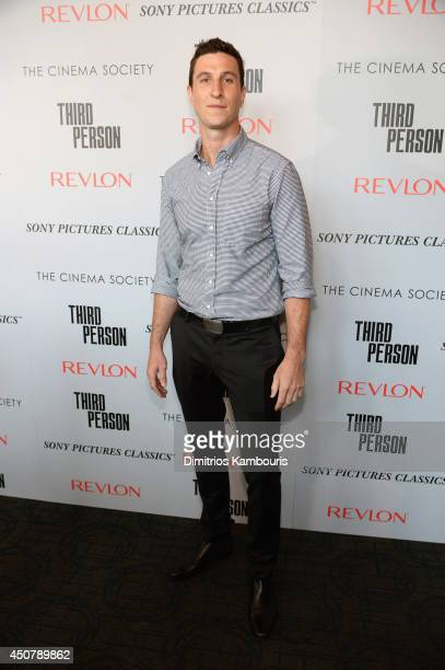 Actor Pablo Schreiber attends Sony Pictures Classics' 'Third Person' screening hosted by The Cinema Society and Revlon at Landmark Sunshine Cinema on...