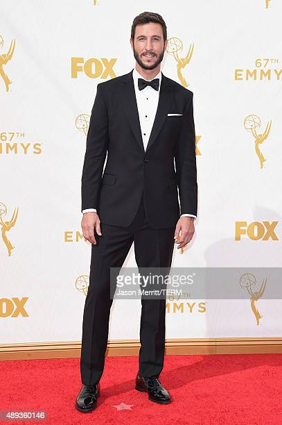 Actor Pablo Schreiber attends the 67th Annual Primetime Emmy Awards at Microsoft Theater on September 20 2015 in Los Angeles California