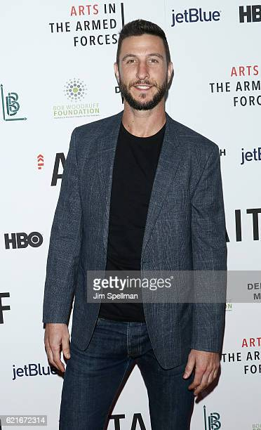 Actor Pablo Schreiber attends the 8th Annual Arts In The Armed Forces performance on Broadway at Studio 54 on November 7 2016 in New York City