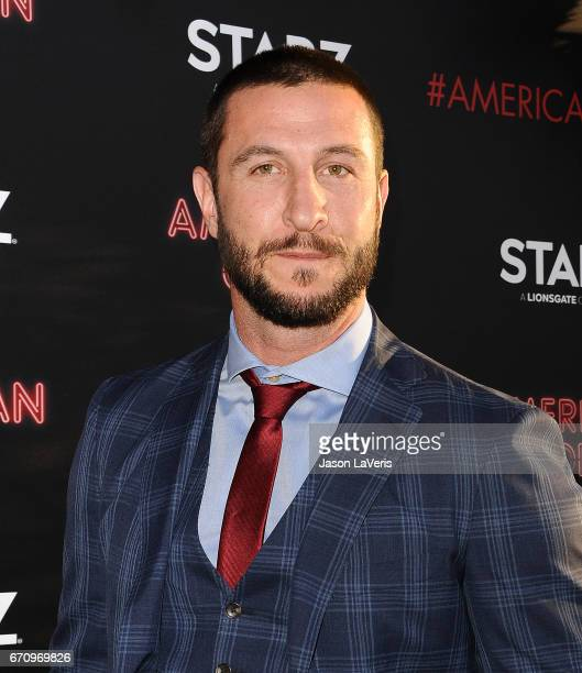 Actor Pablo Schreiber attends the premiere of 'American Gods' at ArcLight Cinemas Cinerama Dome on April 20 2017 in Hollywood California