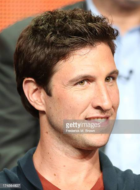 Actor Pablo Schreiber speaks onstage during the 'Ironside' panel discussion at the NBC portion of the 2013 Summer Television Critics Association tour...