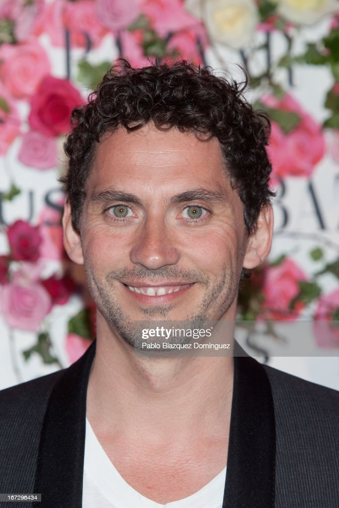 Actor Paco Leon attends the presentation of the new fragrance 'Rosa' at Ritz Hotel on April 23, 2013 in Madrid, Spain.