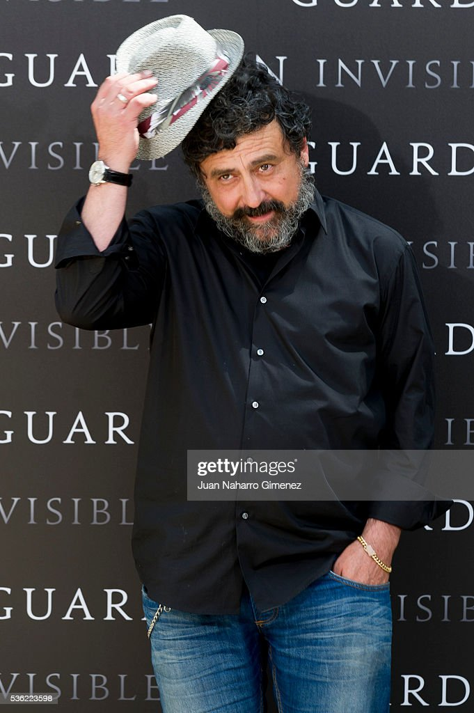 Actor Paco Tous attends 'EL Guardian Invisible' photocall on May 31, 2016 in Madrid, Spain.