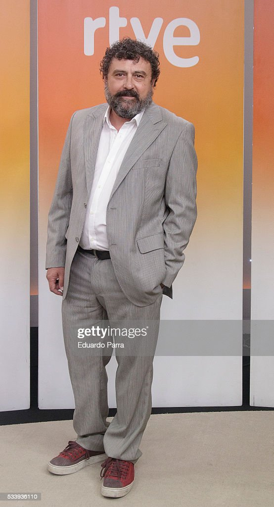 Actor Paco Tous attends 'El hombre de tu vida' press conference at RTVE studios on May 24, 2016 in Madrid, Spain.