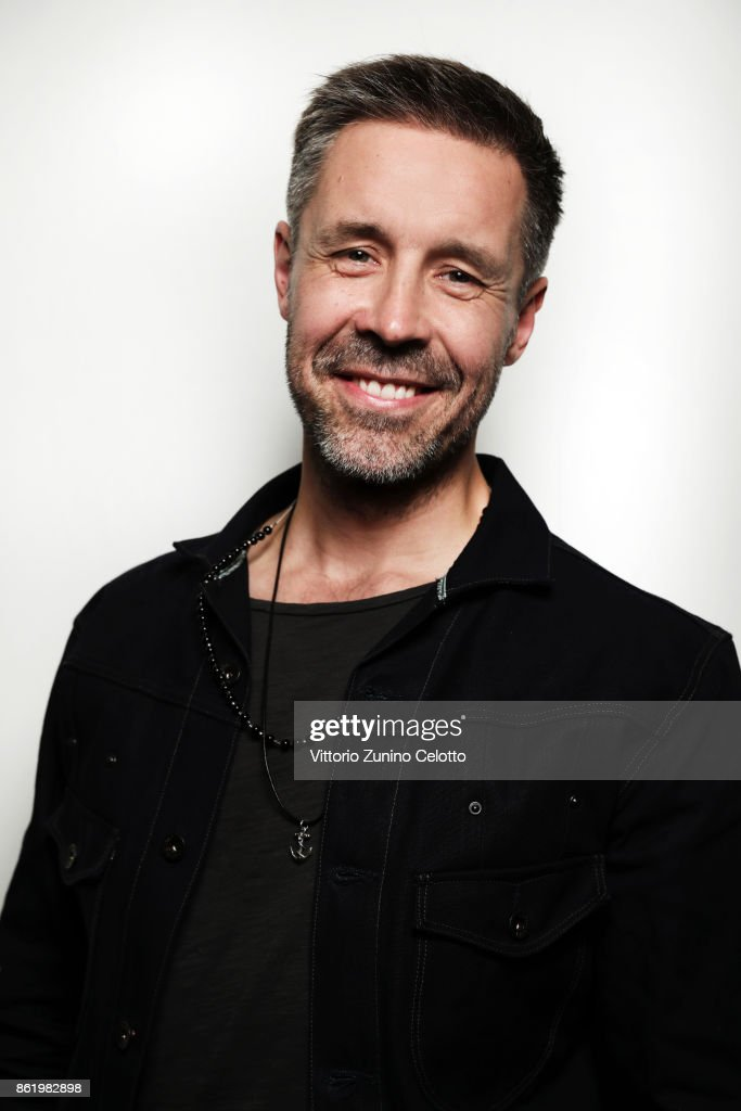 Actor Paddy Considine is photographed during the 61st BFI London Film Festival on October 12, 2017 in London, England.