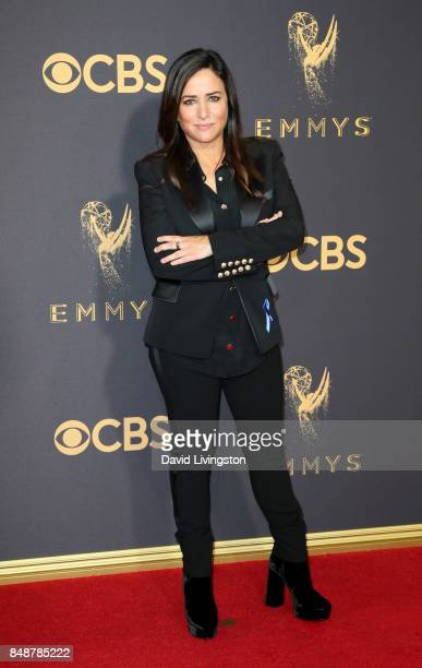 Actor Pamela Adlon attends the 69th Annual Primetime Emmy Awards Arrivals at Microsoft Theater on September 17 2017 in Los Angeles California