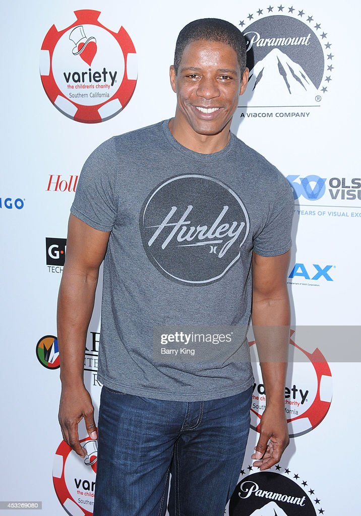 Actor Pancho Demmings attends the 4th annual Variety's Texas Hold 'Em poker tournament to benefit 'The Children's Charity Of Southern California' at Paramount Studios on July 16, 2014 in Hollywood, California.