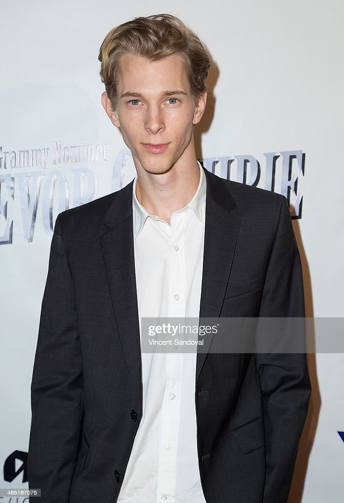 Actor Parker Croft attends the Pre-Grammy Celebration Party for Trevor Guthrie on January 25, 2014 in Los Angeles, California.