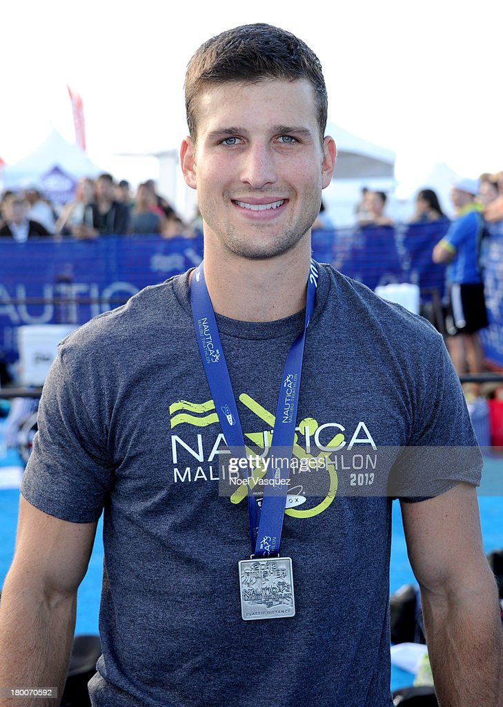 Actor Parker Young attends Nautica Malibu Triathlon presented by Equinox on September 8, 2013 in Malibu, California.