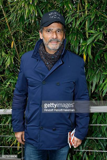 Actor Pascal Elbe attends Day Thirteen of the 2016 French Tennis Open at Roland Garros on June 3 2016 in Paris France
