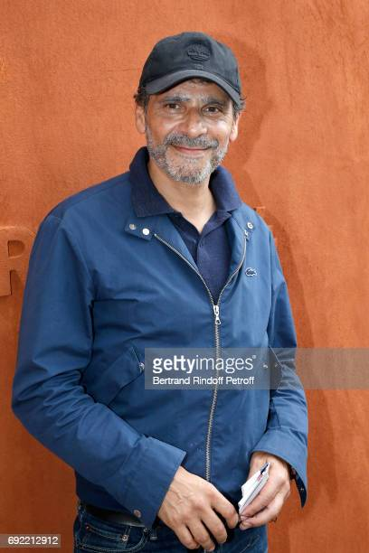 Actor Pascal Elbe attends the 2017 French Tennis Open Day Height at Roland Garros on June 4 2017 in Paris France