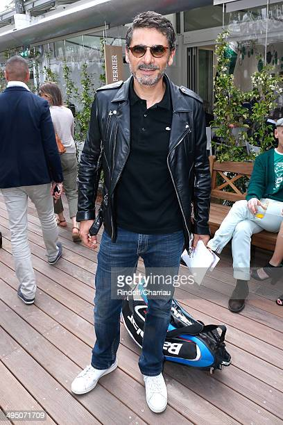 Actor Pascal Elbe attends the Roland Garros French Tennis Open 2014 Day 8 on June 1 2014 in Paris France