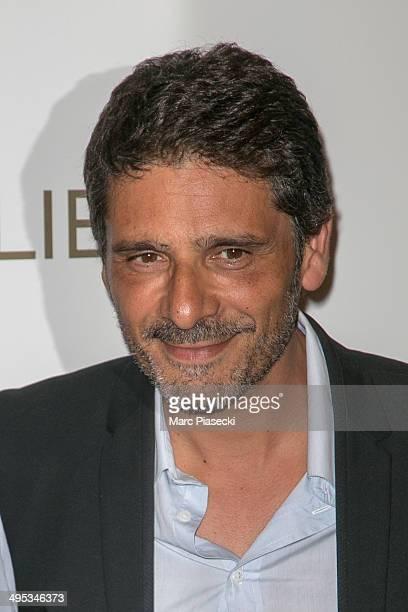 Actor Pascal Elbe attends the 'Sous les Jupes des Filles' Premiere at Cinema UGC Normandie on June 2 2014 in Paris France