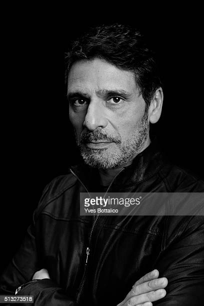 Actor Pascal Elbe is photographed for Self Assignment on December 29 2015 in Paris France