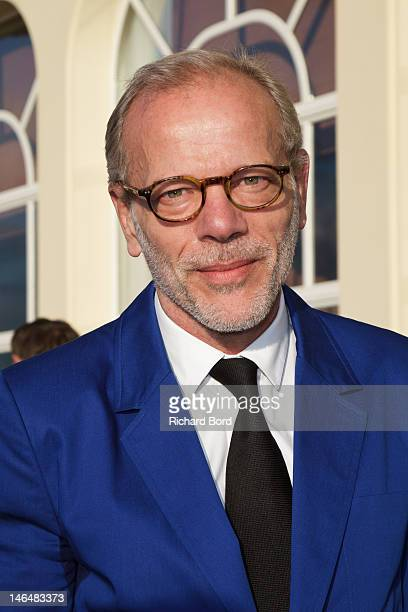 Actor Pascal Greggory attends the 26th Cabourg Romantic Film Festival on June 16 2012 in Cabourg France