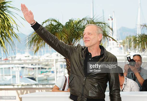 Actor Pascal Greggory attends the 'Rebecca H ' Photocall at the Palais des Festivals during the 63rd Annual Cannes Film Festival on May 20 2010 in...