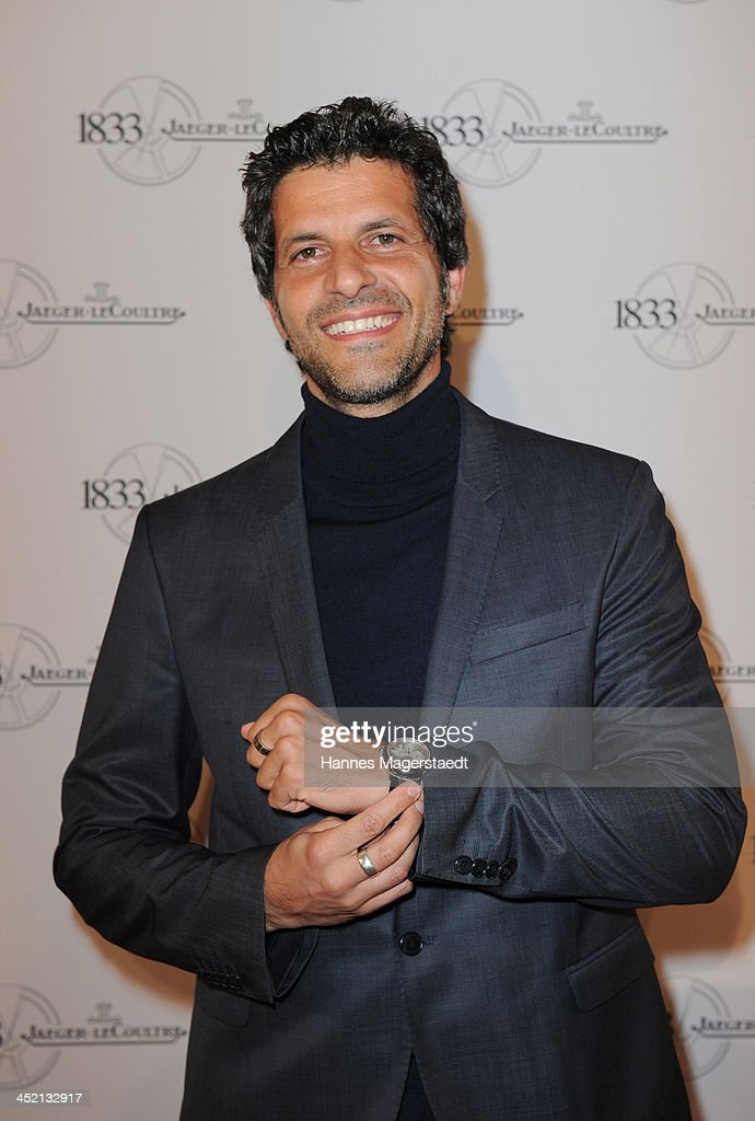 Actor Pasquale Aleardi attends Jaeger-LeCoultre Cocktail at Charles hotel on November 26, 2013 in Munich, Germany.