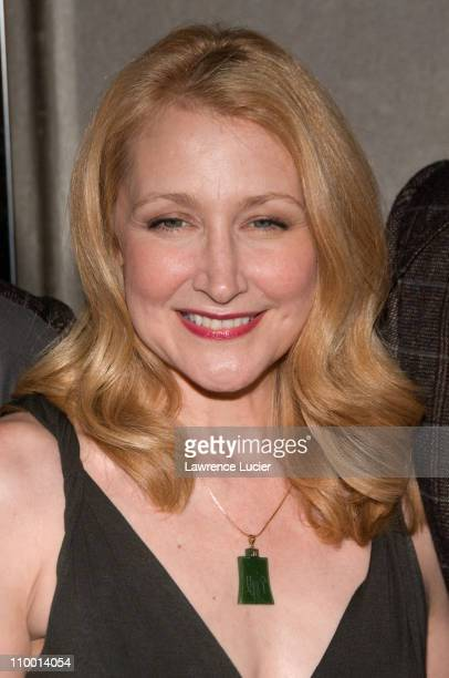 Actor Patricia Clarkson arrives at the New York screening of Lars And The Real Girl October 3 at the Paris Theater in New York City