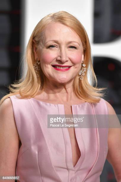 Actor Patricia Clarkson attends the 2017 Vanity Fair Oscar Party hosted by Graydon Carter at Wallis Annenberg Center for the Performing Arts on...