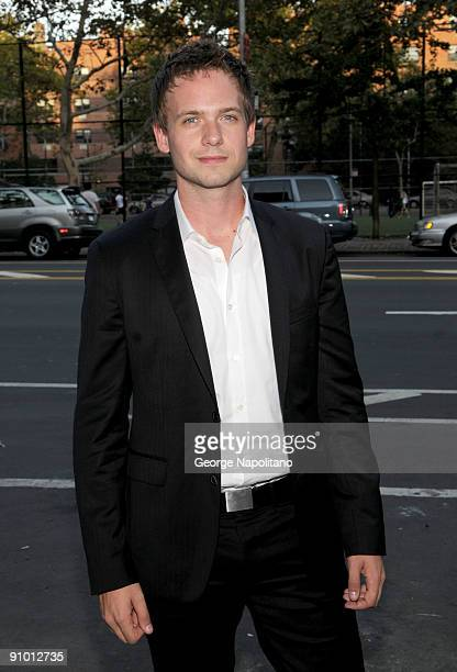 Actor Patrick Adams attends the 'Rage' premiere at The Box on September 21 2009 in New York City