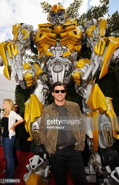 Actor Patrick Dempsey arrives at the 2011 MTV Movie Awards at Universal Studios' Gibson Amphitheatre on June 5 2011 in Universal City California