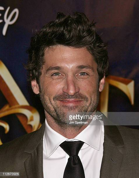 Actor Patrick Dempsey arrives at the 'Enchanted' Premiere at the Ziegfeld Theater on November 19 2007 in New York City