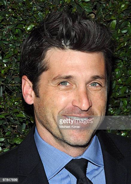 Actor Patrick Dempsey arrives at the Ferrari 458 Italia Brings Funds for Haiti Relief event at Fleur de Lys on March 18 2010 in Los Angeles California