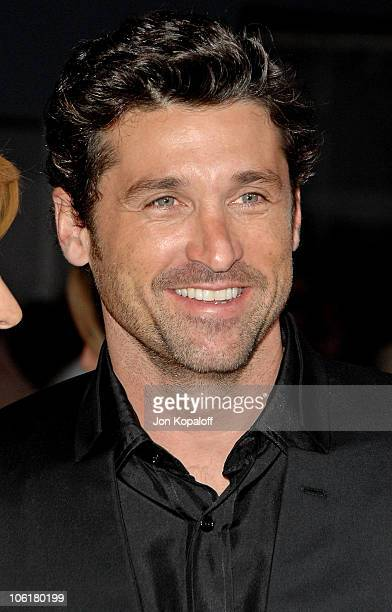 Actor Patrick Dempsey arrives at the Los Angeles Premiere 'Enchanted' at the El Capitan Theater on November 16 2007 in Hollywood California