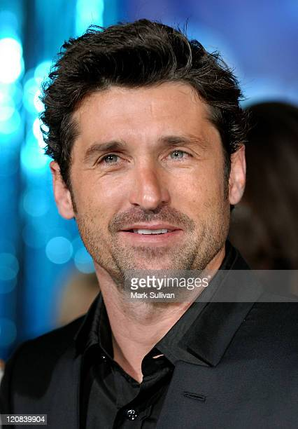 Actor Patrick Dempsey arrives at the premiere of 'Enchanted' held in Hollywood California on November 17 2007