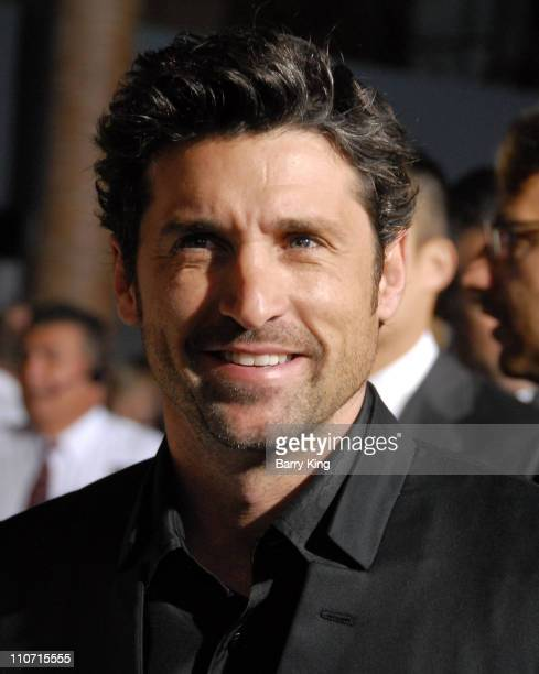 Actor Patrick Dempsey arrives at the World Premiere of Walt Disney Pictures' 'Enchanted' held at El Capitan Theatre on November 17 2007 in Hollywood...
